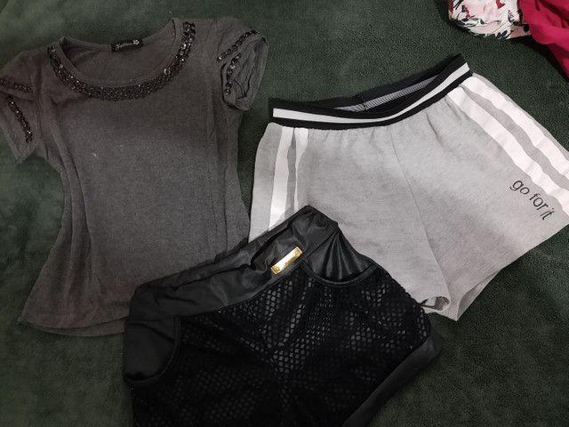 Lote de roupas Tam 10/12 - Foto 5
