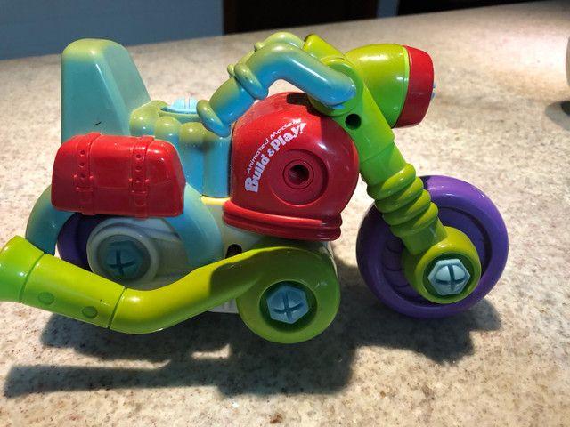 Brinquedo. Motocicleta desmonte Educação Crianças ?Raro? - Foto 6