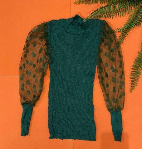 Blusa em tricot - Foto 5