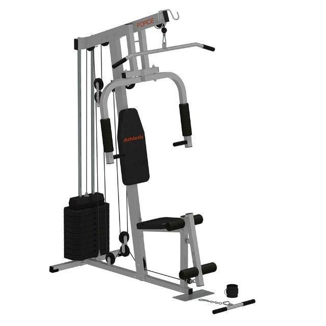 Estação Athletic force - 38 exercicios - 150kg - 10x sem juros nos cartões