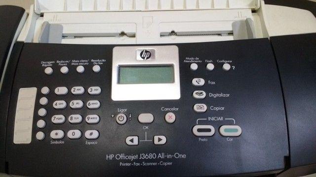 Impressora HP - Multifuncional J3600 - Com Cartucho - Foto 3