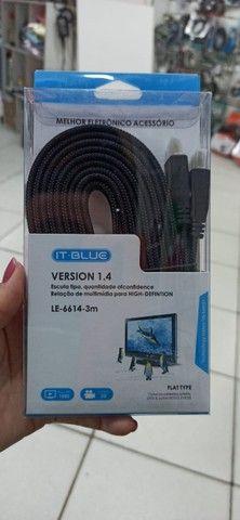 Cabo Hdmi 3m v1.4 IT.Blue LE-6614-3m