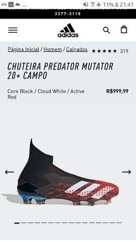 Chuteira 41/42 Predator Mutator 20+ Campo - Foto 2