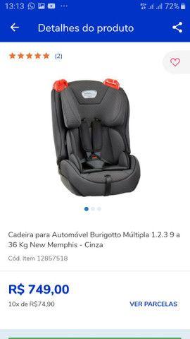 Cadeirinha Criança Para Automóvel  - Foto 3
