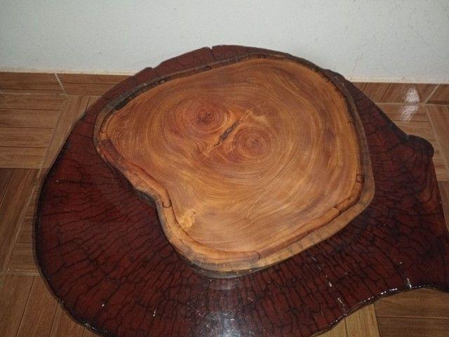 Vendo tábuas de carne rústicas madeira sucupira branca - Foto 6