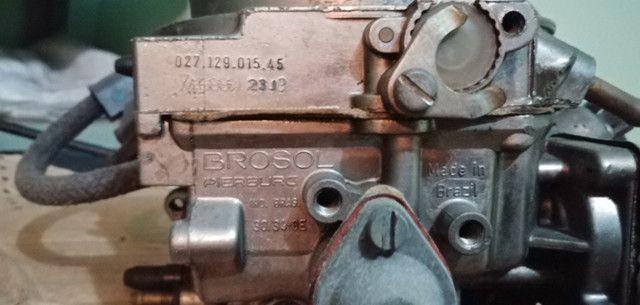 Carburador 3e, h30 34 BLFA, miniprogressivo. Coletor chevette, mufla - Foto 13