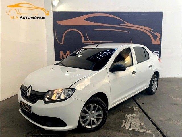 Novíssimo! Renault Logan 1.0 12v Flex Authenique Manual 2019 (+pequena entrada)  - Foto 4