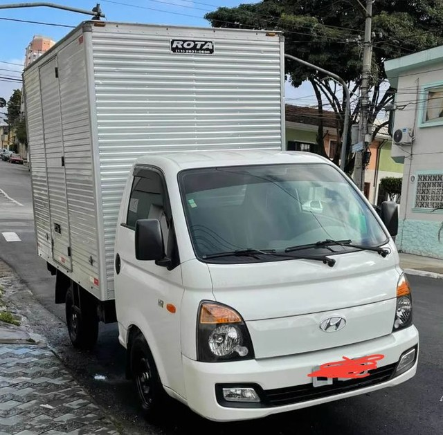 Hyundai HR 2.5 HD com baú carga seca 2014 - Foto 5