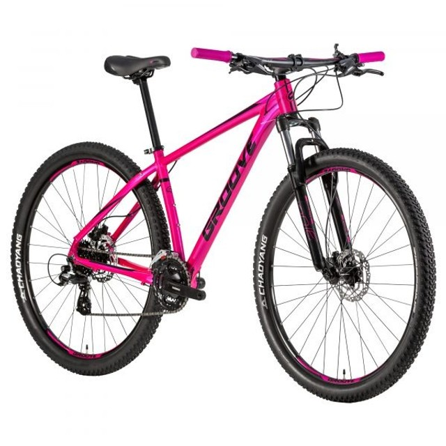 Bicicleta Alumínio MTB 24v HD Groove Indie 50 - Foto 2