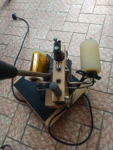 Máquina antiga, de confeccionar cartões  - Foto 2