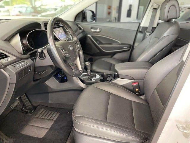 HYUNDAI SANTA FE 3.3 MPFI 4X4 V6 270CV GASOLINA 4P AUTOMATICO 2018 - Foto 9