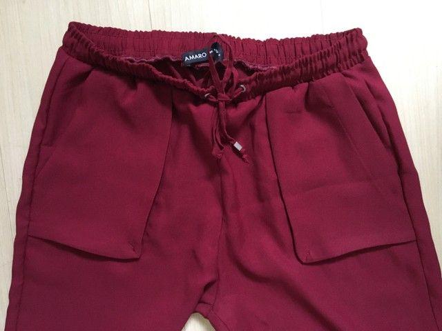 Calça vermelha - Amaro - Foto 2