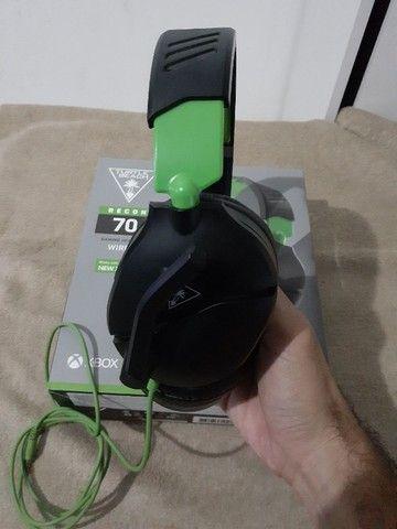 headset Turtle Beach Recon 70 Com Fio, Preto - Xbox  - Foto 2