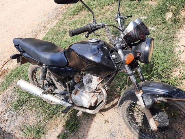 Vendo titan 150 ks 2005 só pra rodar - Foto 6