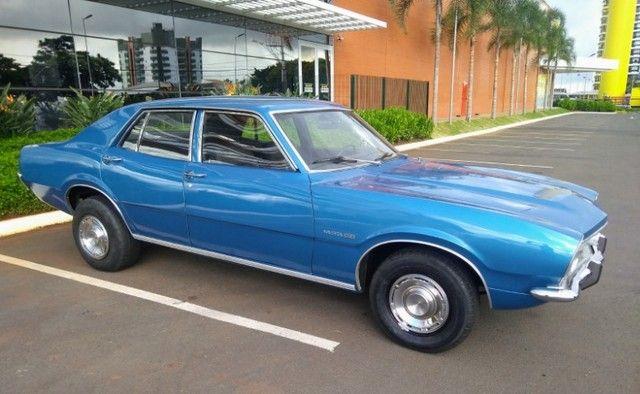 Ford Maverick 4 Portas Azul 1975 Original, 3º Dono, Raridade - Foto 2
