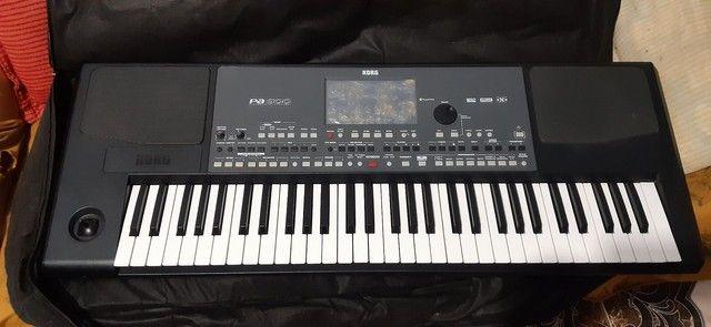 teclado pa 600 unico dono - Foto 5