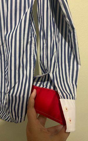 Blusa Social England, feminina, Plus Size  - Foto 4