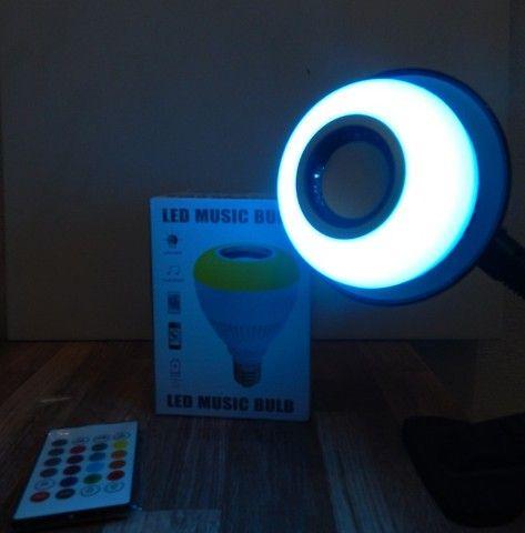 Lâmpada Led Bluetooth Music (aceito cartão) - Foto 3