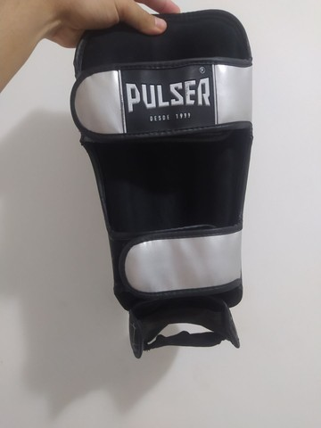 Caneleiras para kickboxing / muay thay - Foto 3