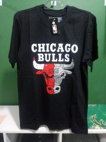 Camisa Chicago Bulls Preta