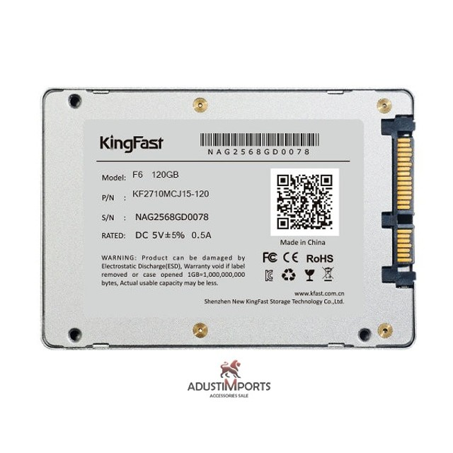 Ssd kingfast F6 Pro 120gb, produto novo à pronta entrega! Com garantia! - Foto 3
