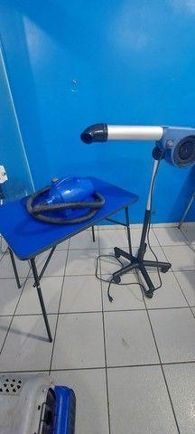 Kit para banho e tosa soprador secador mesa - Foto 2