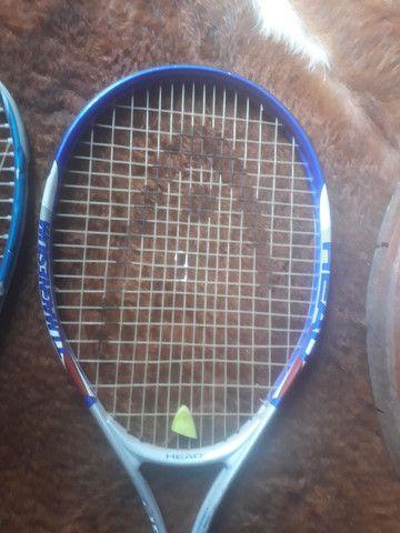 1 Raquete tênis Head  1 raquete Wilson - Foto 2