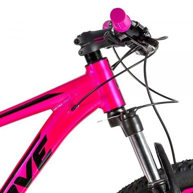 Bicicleta Alumínio MTB 24v HD Groove Indie 50 - Foto 5
