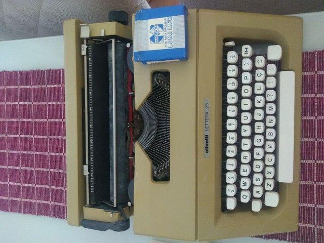 Máquina de escrever Olivetti LETTERA 25 - Foto 6
