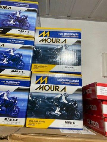 Bateria Moura para motos suzuki  yes intruder gsr150 entrega todo Rio  - Foto 2