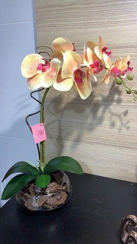 Vendo arranjos de orquídea permanente 75,00 a vista  - Foto 5