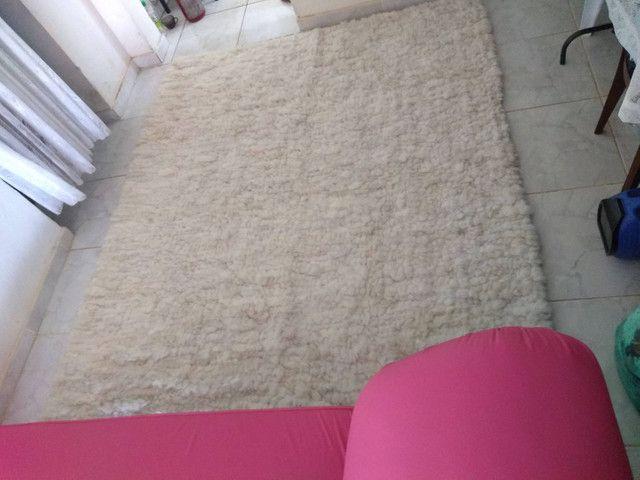 Tapete Lã de carneiro (Legítimo lã de carneiro) - Foto 2
