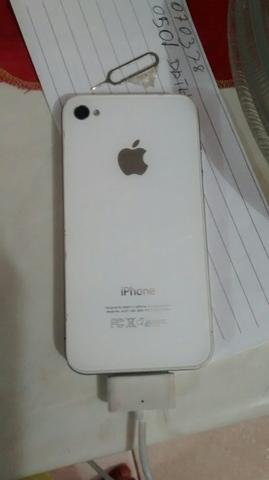 Vendo iPhone 4s branco o toop
