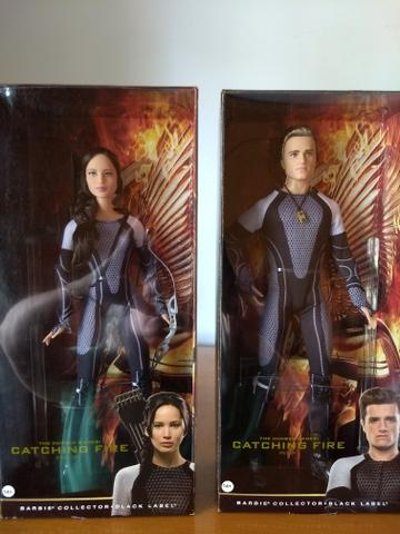 Barbie Jogos Vorazes Hunger - Games em Chamas Pieeta e Katniss