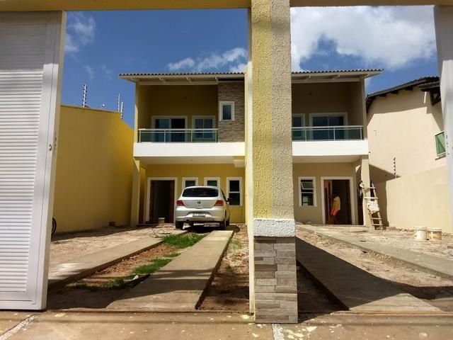 Casas duplex no Eusébio, 3 quartos 4 vagas fino acabamento - Foto 5