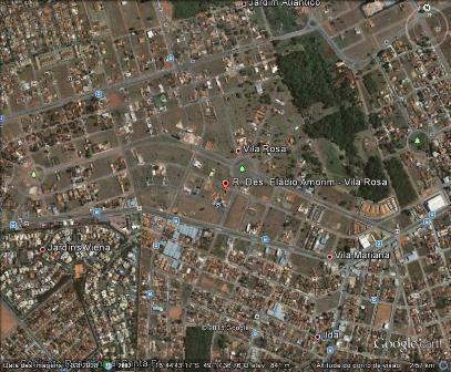 Terreno residencial à venda, Vila Rosa, Goiânia.