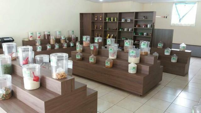 Vendo instalações para loja de produtos naturais