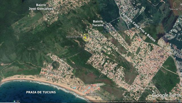 Cód: 103M Ótimo Terreno no Bairro Tucuns em Armação dos Búzios - Foto 3