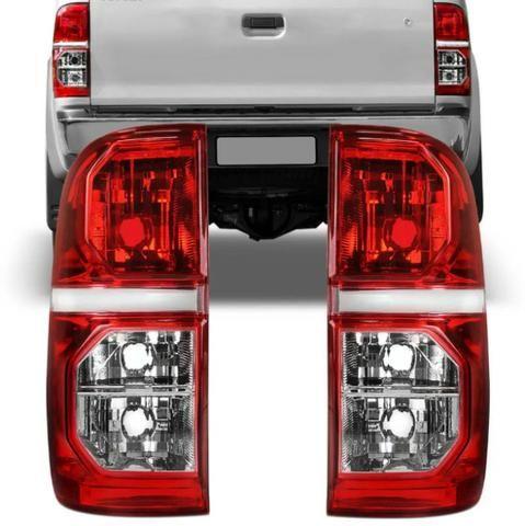 Lanterna Traseira Bicolor Toyota Hilux 2012 Até 2015 Apenas R$159,90 Cada