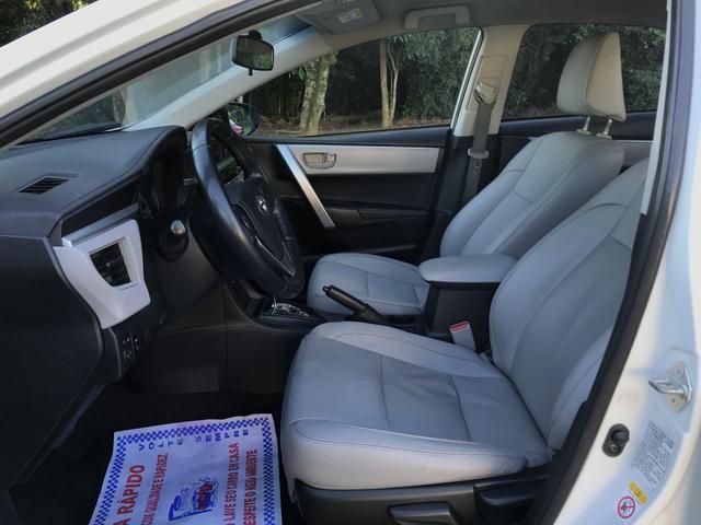Toyota Corolla 2017 GLI Upper 1.8 Automático Flex Completo - Foto 10