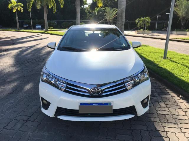 Toyota Corolla 2017 GLI Upper 1.8 Automático Flex Completo