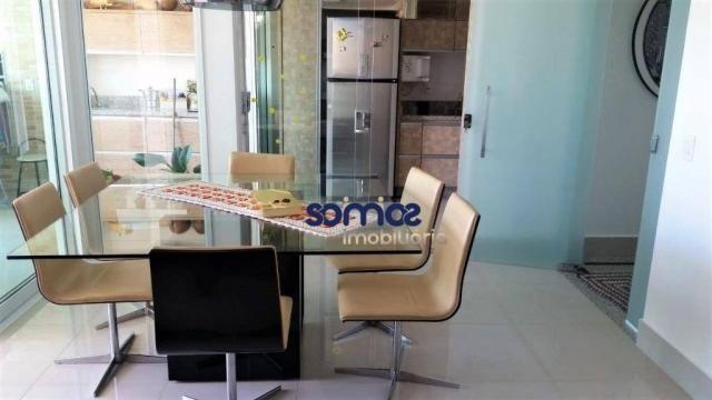 Apartamento com 3 dormitórios à venda, 122 m² por r$ 729.000 - setor bueno - goiânia/go - Foto 3