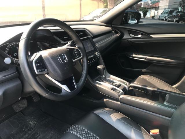 Honda Civic sport 2.0 flex com gnv 5.geração automático cvt completo 2018 - Foto 8