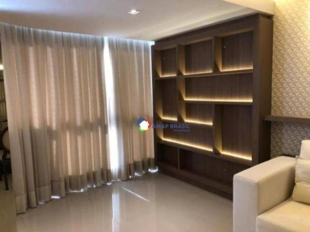 Apartamento com 2 dormitórios à venda, 105 m² por R$ 495.000,00 - Setor Bueno - Goiânia/GO - Foto 6