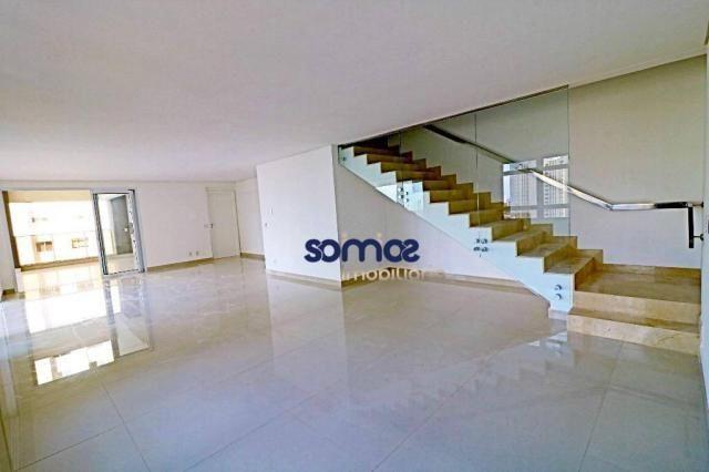 Apartamento duplex com 4 dormitórios à venda, 288 m² por r$ 2.080.000,00 - setor bueno - g - Foto 4
