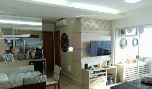 Apartamento com 2 dormitórios à venda, 69 m² por r$ 250.000,00 - parque amazônia - goiânia - Foto 2