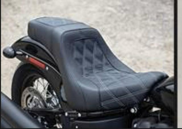 Banco Para Harley Davidson Danny Gray C/airhawk Integrado