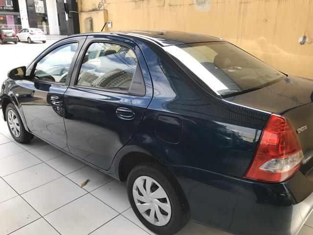 Toyota Etios Sedan XS 1.5 automático único dono! - Foto 4