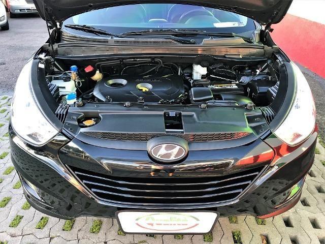 Hyundai IX35 Botão Start, Automática, Top + Kit GNV Última Geração, Baixa km. Lindo Carro! - Foto 14