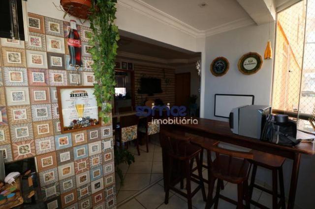 Apartamento com 3 dormitórios à venda, 95 m² por r$ 275.000,00 - jardim américa - goiânia/ - Foto 4